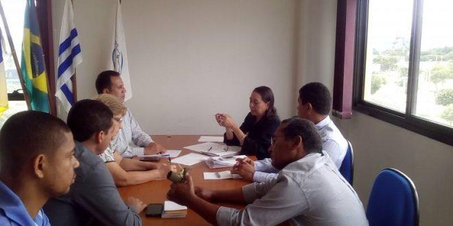 Prefeitos, secretário e vereador do Vale do Rio Palmas vão à Funasa na capital em busca de recursos federais